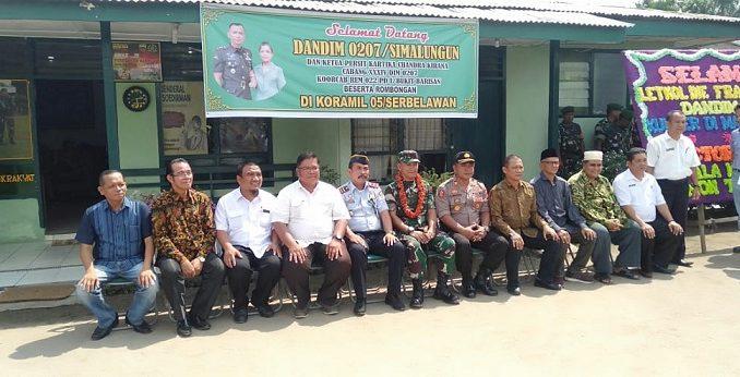Temu Ramah Dandim 0207/SML bertempat di Makoramil 05/Serbelawan, Rabu siang (26/02/2020) sekira pukul 13.00 Wib.