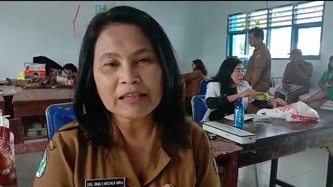 Kepala Dinas Kesehatan Kab. Karo Drg. Irna S Meliala, M.Kes