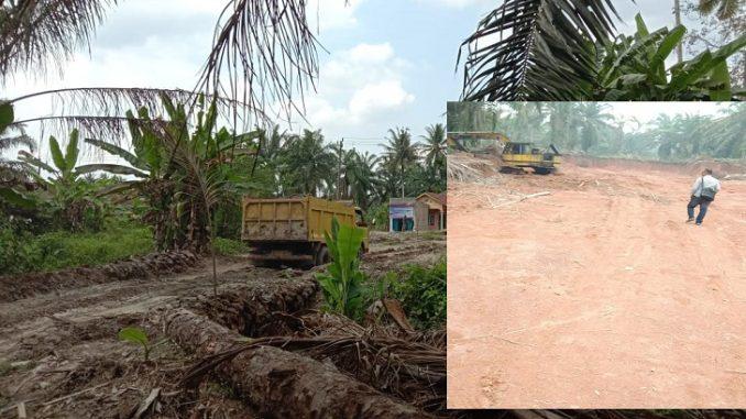 Dam Truk (DT) Muatan Tanah Hasil Galian C Ilegal Di Desa Perjuangan Kec Sei Balai dan Galian C Ilegal Di Desa Salam I Kec Sei Balai