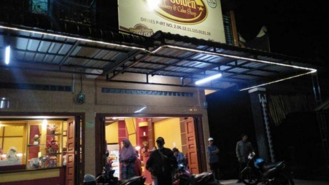 Lokasi Perampokan Toko Roti Golden