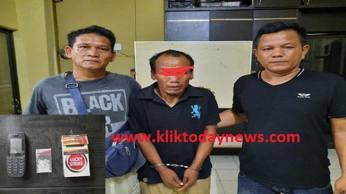Herman (32) Ditangkap Satuan Res Narkoba Polres Tanjungbalai pada Rabu, 05 Februari 2020 sekira 11:30 WIB.