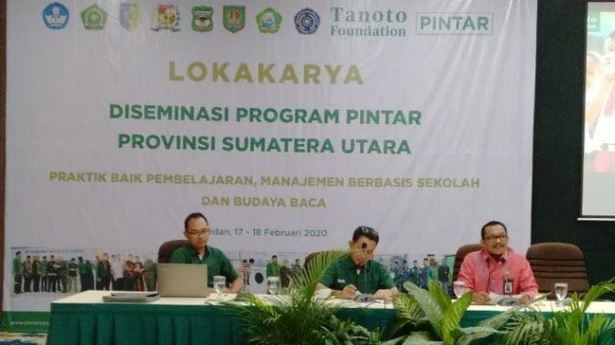 Kadisdik Batu Bara Ilyas Sitorus, SE, M.Pd Menjadi Pemateri Pada Lokakarya TF Acara Diseminasi Program Pintar