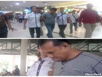 Kompol RHA, diringkus Tim Direktorat Reserse Kriminal Umum (Ditreskrimum) Polda Sumut di Pekanbaru, Riau, Rabu (5/2).
