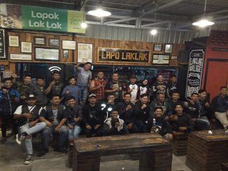 Kopdar para bikers Tobasa ini di laksanakan di Lapo LakLak pada hari Minggu (23/02/2020) sekitar pukul 18.00 WIB