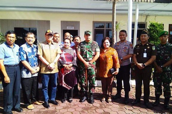 Menteri Hukum dan Hak Asasi Manusia RI Yasonna Hamonangan Laoly, Minggu (16/2/20) mengunjungi ke Rutan Kabanjahe.