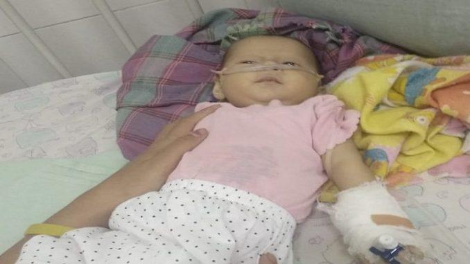 Migel masih terbaring lemah di RS Horas Insani Kamar 325,Pematangsiantar