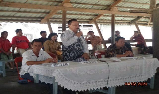 (Musrenbangdes) dalam rangka penetapan Rencana Kegiatan Pemerintahan desa ( RKP des) yang bertempat di balai desa Bawomataluo pada hari Selasa tanggal ,(04-02/2020).
