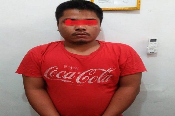 Galiong berhasil ditangkap Pada Pukul 10.00 Wib, Kamis(27/02/2020) Kediamannya.