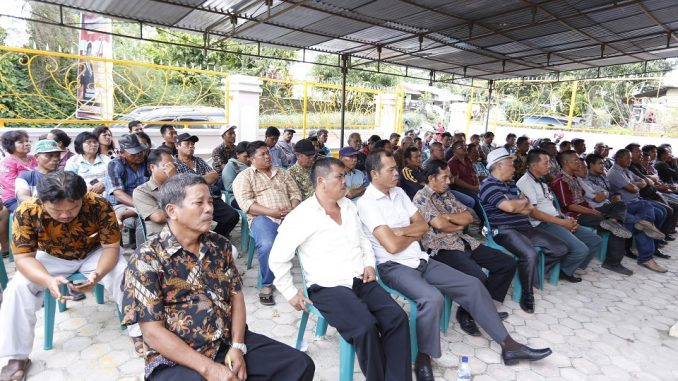 Kegiatan pembentukan relawan dilakukan di Rumah Aspirasi Rakyat yang beralamat Baliran, Jl.Tigabolon Sidamanik, Simlaungun, Rabu (19/2/2020) pukul 13.00 wib.