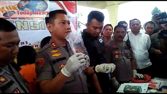 Press Release Polres Simalungun , 11/2/2020 di Asrama Polisi ( Aspol ) Jalan Asahan