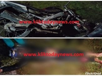 kecelakaan lalu lintas yang terjadi sekira pukul 21.00 Wib di Jalan Dolok Sanggul Onan Ganjang KM. 13-14 tepatnya di desa Sosor Tambok, Kecamatan Dolok Sanggul Kabupate Humbang Hasundutan, Kamis, 6/2/2020.