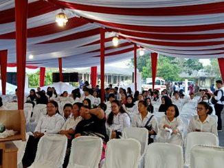 pelaksanaan Seleksi Kompetensi Dasar (SKD) CPNS formasi tahun 2019 di Siantar Hotel Pematangsiantar, Jumat (21/2/2020).