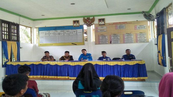 Kepala Desa Sei Raja Terpilih November 2019 Silam Wahid Iskandar Barus,S.Pd.i melakukan Pembentukan Struktur Karang Taruna di desanya.