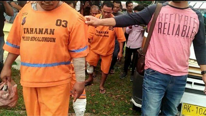 Asrama Polres Simalungun jalan Sangnawaualuh Kelurahan Siopat Suhu Kecamatan Siantar Timur, Kamis (5/3/2020) pukul 15.00 Wib