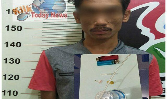 ZAS Pelaku Pertama Yang Ditangkap Satres Narkoba Polres Toba
