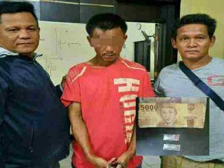1 tersangka kasus Narkotika jenis Shabu Amin Sinaga Alias Aseng