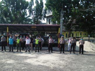 FORKOPIMDA KABUPATEN SIMALUNGUN BERSAMA BPBD di kota Perdagangan Kabupaten Simalungun Provinsi Sumatera Utara, Selasa 31 Maret 2020 pukul 09.30 Wib.