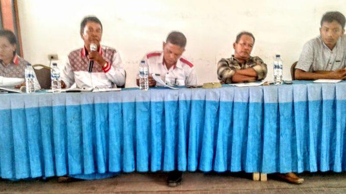 Polsek Tanah Jawa Laksanakan Penandatanganan Fakta Zona Integritas