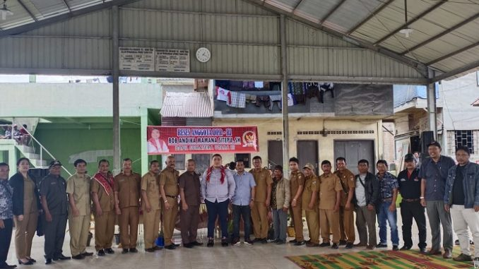 Bob Andika Mamana Sitepu Anggota Dewan Perwakilan Rakyat Republik Indonesia (DPR RI Komisi 5 Fraksi PDI Perjuangan)