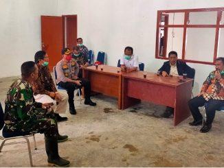 Posko Gugus Tugas Covid-19. Dilaksanakan Rapat Pimpinan Daerah (FORKOPIMDA)
