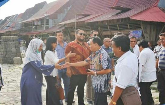Komisi E DPRD Provsu Kunjungan Kerja Di Desa Wisata Bawomataluo
