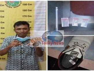 HO alias Soyok(25) Ditangkap Sat Narkoba Polres Sergai.