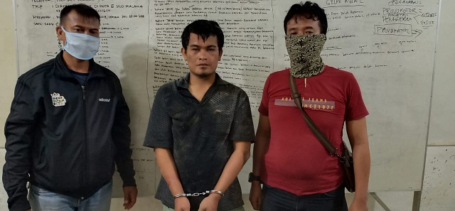 Bandit Kampung Jumpa Sembiring (30) Ditangkap Petugas