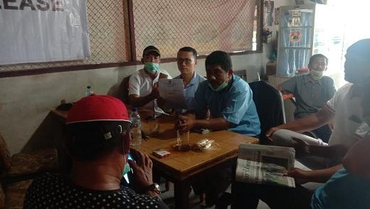 Ketua PPDI Batu Bara melalui Sekretaris Ariyanto, S, Fil kepada wartawan, Kamis 16/04/2020