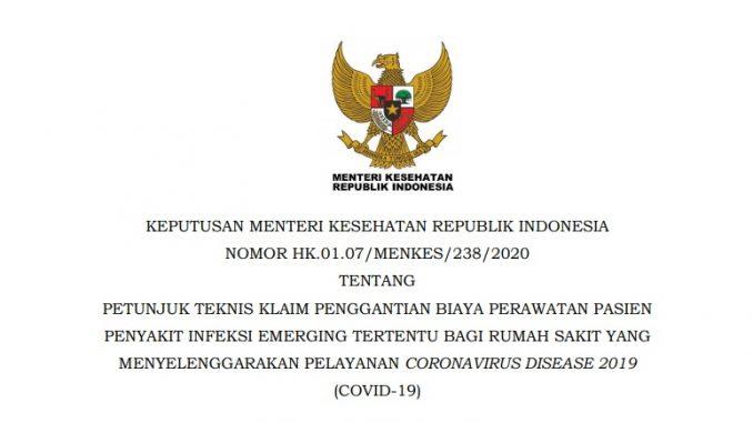 Keputusan Menteri Kesehatan Republik Indonesia