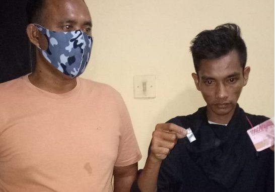 H alias Hambali ditangkap pada hari Sabtu(18/4/2020)