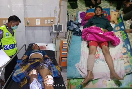 2 Korban dirawat di RS