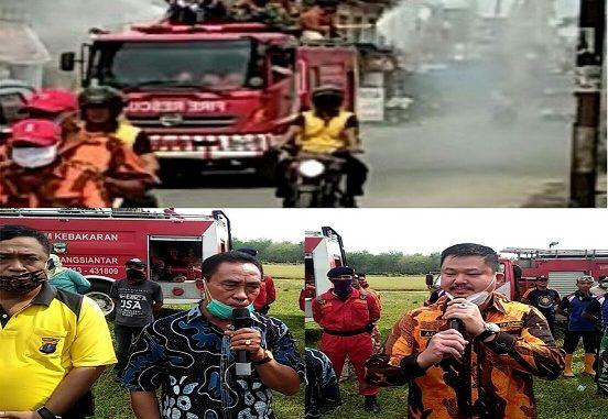 MPW-PP SUMUT SEMPROTKAN 25 TON DESINFEKTAN DI KECAMATAN DOLOK BATU NANGGAR,(10/4/2020)