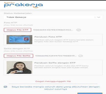 Resmi Dibuka Daftar Kartu Prakerja Online Alami Kendala Berita Ter Update Hari Ini