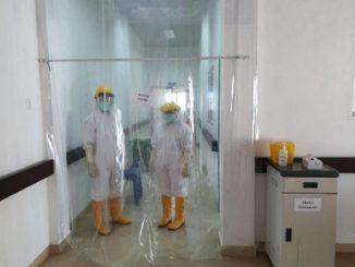 Kedua orang dalam Pengawasan (PDP) di ruang Isolasi di RSU Porsea