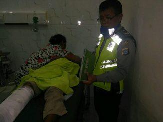 Korban luka dirawat di Rumah Sakit