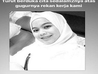 Ari Puspita Sari SKep Ns meninggal pukul 10.50 WIB, Senin (18/5/2020) saat menjalani perawatan di RSAL Dr Ramelan.