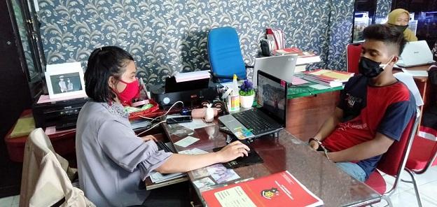 Pelaku RRLB amakan di Mapolres Sergai guna proses hukum