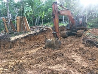 Pembukaan Jalan Desa Bawomataluo Menuju Hilisalawa