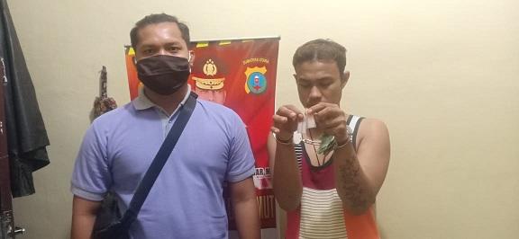 Fauzi Bibir(28) Rabu malam (6/5/2020) sekira pukul 21:00WIB berhasil ditangkap Polisi.