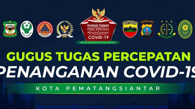 Info Gugus Percepatan Penanganan Covid-19 Kota Pematangsiantar