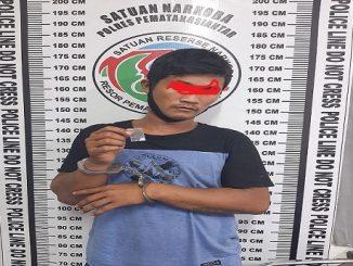 Jeki Ditangkap Polisi Sabtu (23/5/2020) pukul 09.30 Wib.