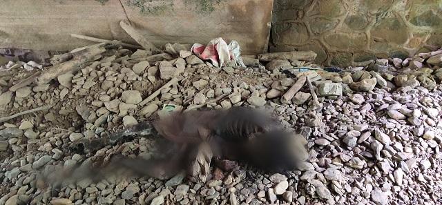 Penemuan kerangka manusia di bawah jembatan Sualan Nagori Sibaganding Kecamatan Girsang Simpangan Bolon Kabupaten Simalungun, Jumat 01 Mei 2020 sekira pukul 13.30 Wib