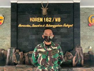 Kapen Rem (Kepala Penerangan Korem) 162/WB, Mayor Dahlan, S.Sos.