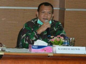 Kasrem 162/WB Letnan Kolonel Inf Endarwan Yansori