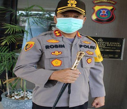 Kapolres Serdang Bedagai AKBP Robin Simatupang