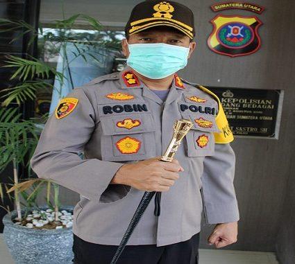 Kapolres Sergai AKBP Robin Simatupang, S.H., M.Hum