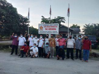 Dewan Pimpinan Cabang (DPC) Partai Gerindra Kabupaten Serdang Bedagai (Sergai) melakukan konsolidasi di 17 PAC di Kecamatan