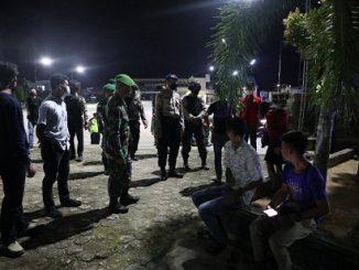 Kapolres Nias Selatan Bersama unsur stakeholder melaksanakan Kegiatan Patroli New Normal di Nias Selatan