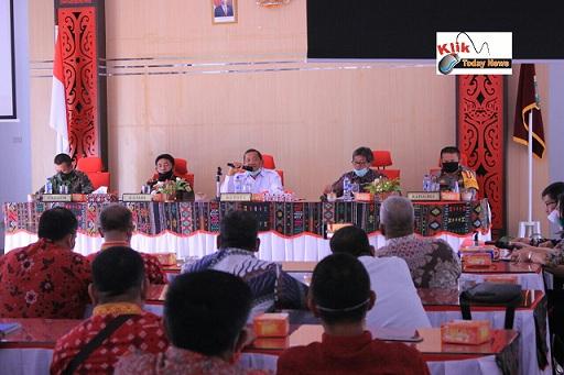 Rapat finalisasi SOP New Normal di Kabupaten Samosir,