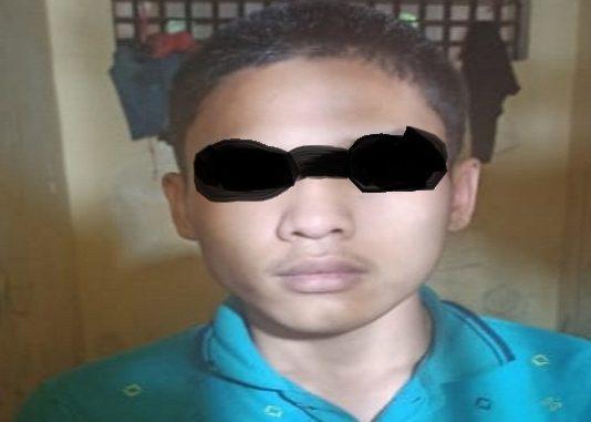 DPM alias Dirga alias Egy (17) di ringkus Tim Opsnal Unit Reskrim Polsek Siantar Martoba, Senin (06/07/2020) sekira pukul 19 45 WIB